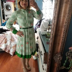 Vintage Japanese pussybow Dress